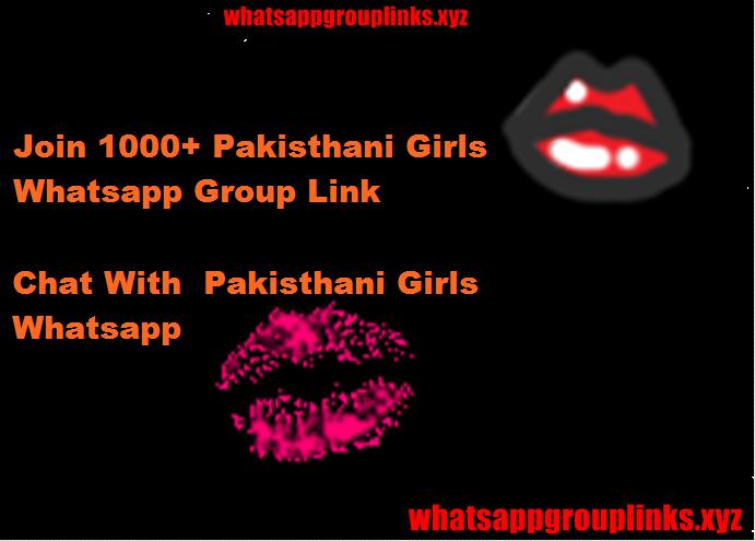 Pakisthan-Girls Whatsapp Group Link -Join Girl Pakisthan