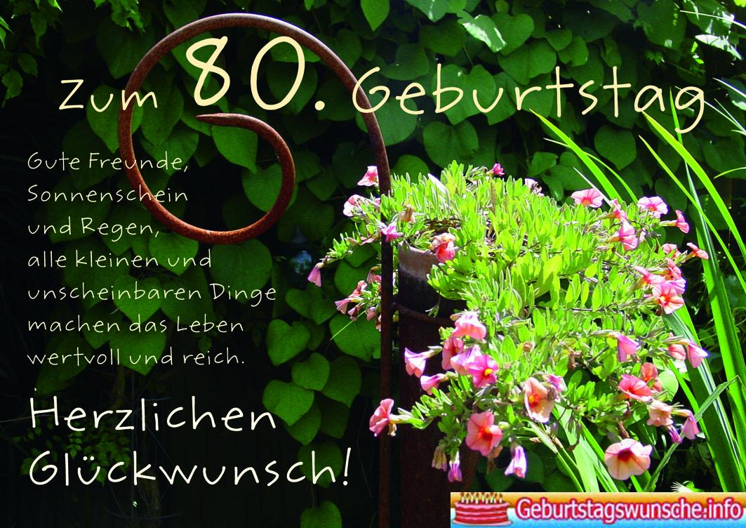 Geburtstagsw Nsche Zum 80 W Nsche Zum Geburtstag