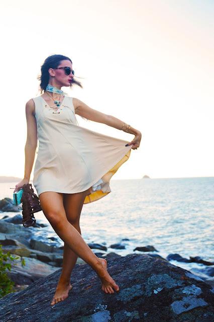 beach outfit idea