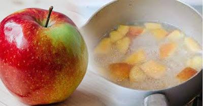 khasiat apel rebus
