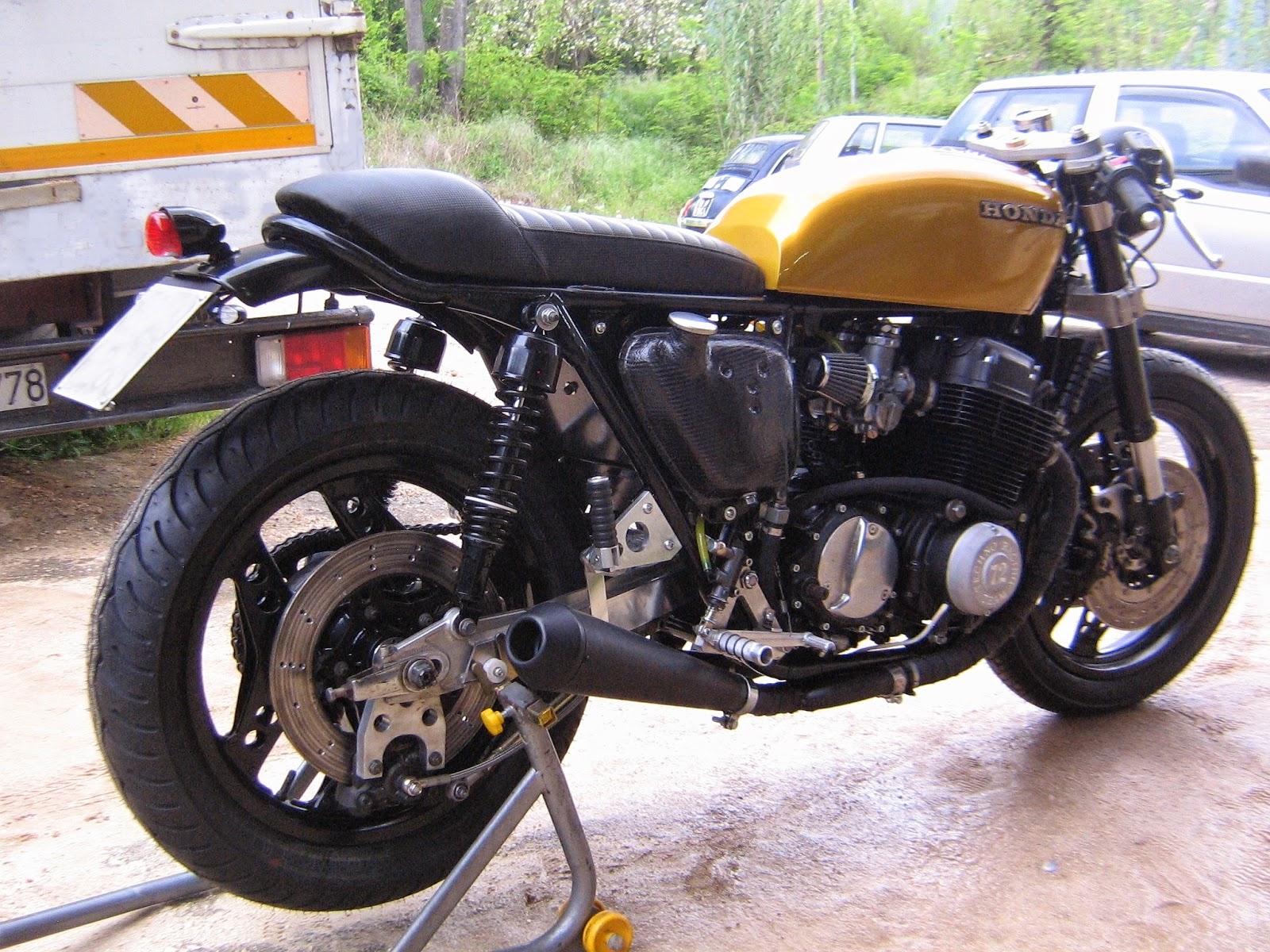 caf sport motorcycles honda cb 750 four caf racer by. Black Bedroom Furniture Sets. Home Design Ideas
