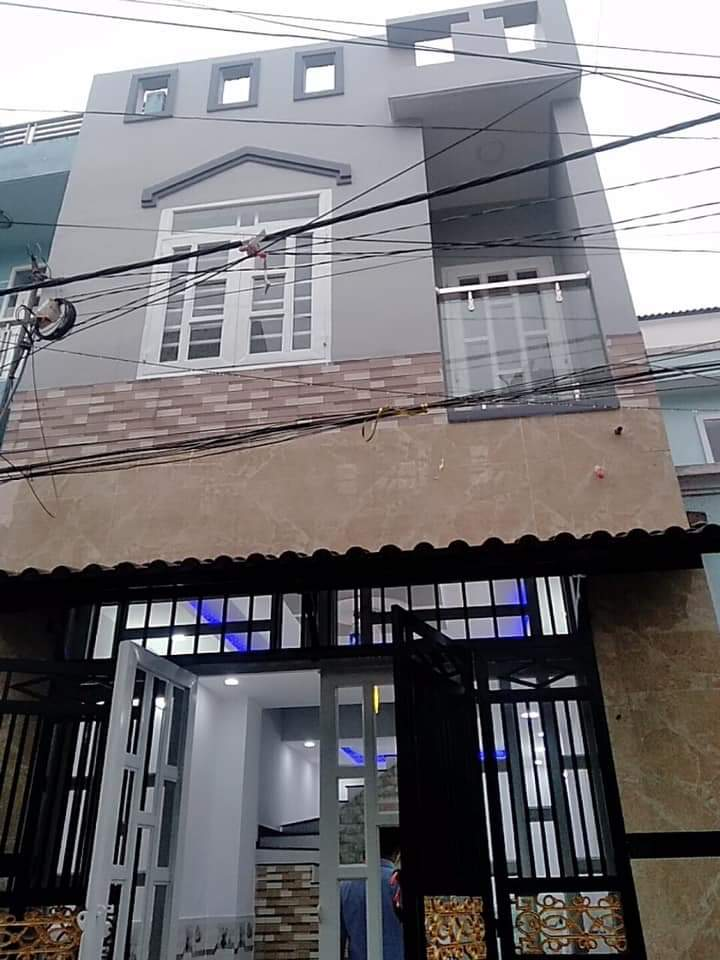 Bán nhà hẻm 80 Đường số 12 phường Bình Hưng Hòa quận Bình Tân. DT 4x10m