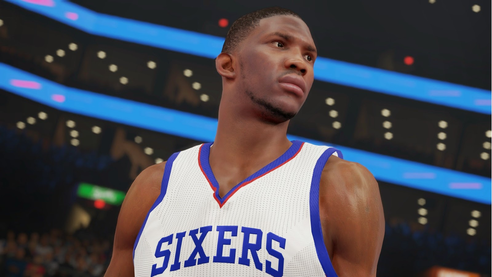 NBA 2K15 Screenshot - Joel Hans Embiid