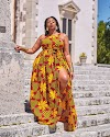 Latest Ankara Maxi Dress 2020 for Ladies : New Style for Ankara Fabrics.