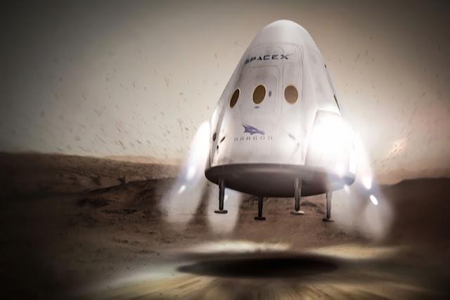 SpaceX Rencanakan Perjalanan ke Mars pada 2018