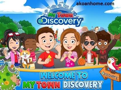 تحميل لعبة ماي تاون ديسكفري مجانا أحدث إصدار My Town Discovery Apk