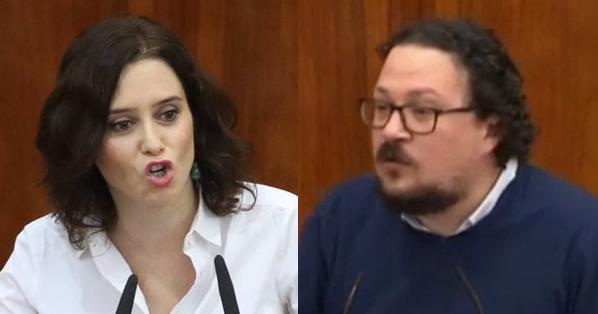 """Jacinto Morano (UP) a Díaz Ayuso: """"malditos sean los votos obtenidos generando odio y engaño"""""""