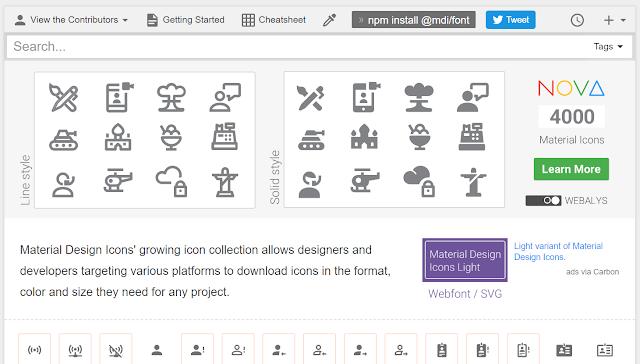 Cara Menggunakan Icon SVG Sebagai Pengganti Font Awesome