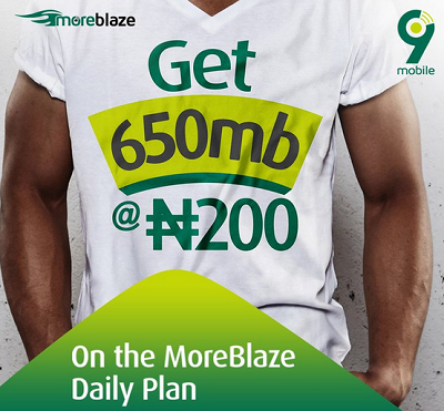 See How to Get 650MB for N200 on 9mobile
