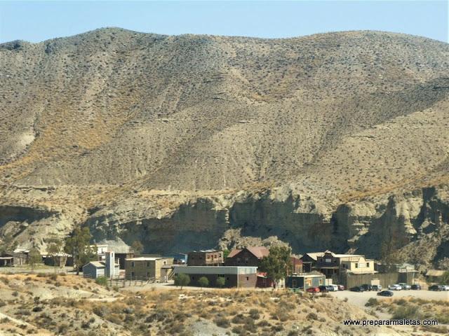 poblados del oeste americano en Almería