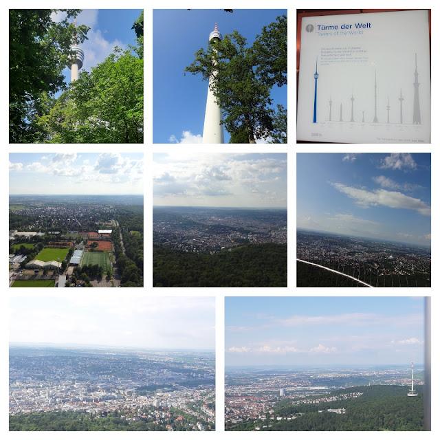 Mirantes e vistas panorâmicas de Stuttgart - Torre de TV - Fernsehturm Stuttgart