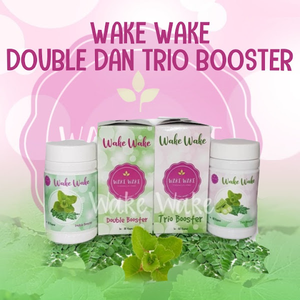 Wake Wake Double Booster dan Wake Wake Trio Booster