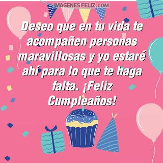 Imágenes feliz cumpleaños. Tarjetas con deseos maravillosos para enviar por Whatsapp. Cupcakes, globos y velitas