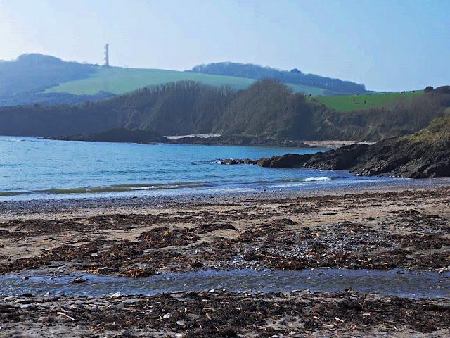 Polridmouth and Gribbin Head, Cornwall