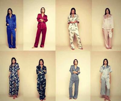 Marca de Pijamas Femininos de Luxo Olivia Von Halle