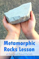 Metamorphic Rocks Lesson