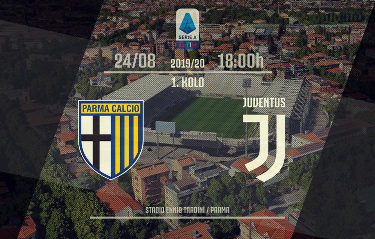 Serie A 2019/20 / 1. kolo / Parma - Juventus, subota, 18:00h