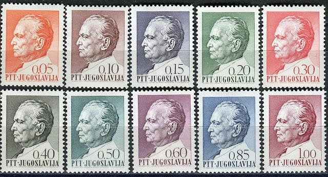 Yugoslavia 1967  Marshal Tito Set
