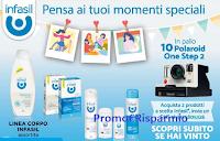 Logo Infasil pensa ai tuoi momenti speciali: vinci Polaroid One Step 2 con mirino e pellicola