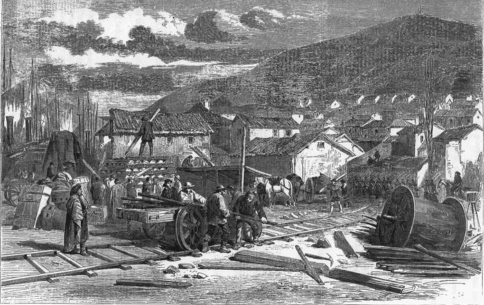 Железная дорога в Балаклаве