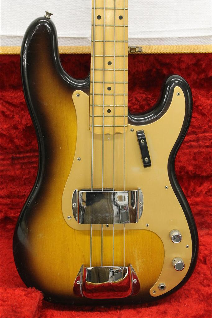 vintage guitarz 1957 fender precision p bass electric guitar. Black Bedroom Furniture Sets. Home Design Ideas