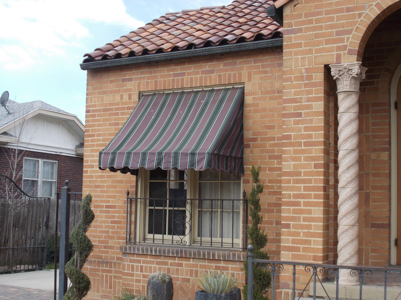 Residential Canvas Window Awnings