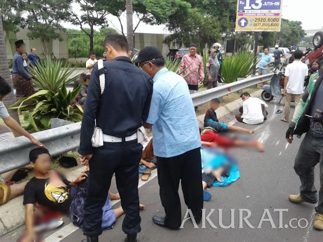 3 Santri Korban Kecelakaan di Cipondoh Dilaporkan Tewas