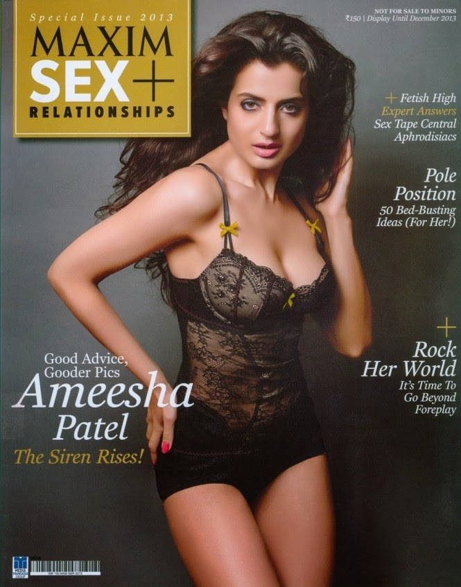 Ameesha Patel in Maxim 2013 Photoshoot