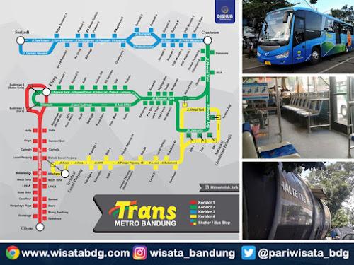 Rute lengkap TMB Bandung