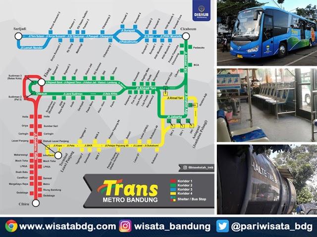 Inilah Rute Lengkap 5 Jurusan Bus Trans Metro Bandung (TMB)