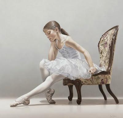Cuadros de Bailarinas de Ballet al Óleo
