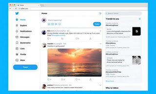 Twitter launches its new design with faster, better and new color theme