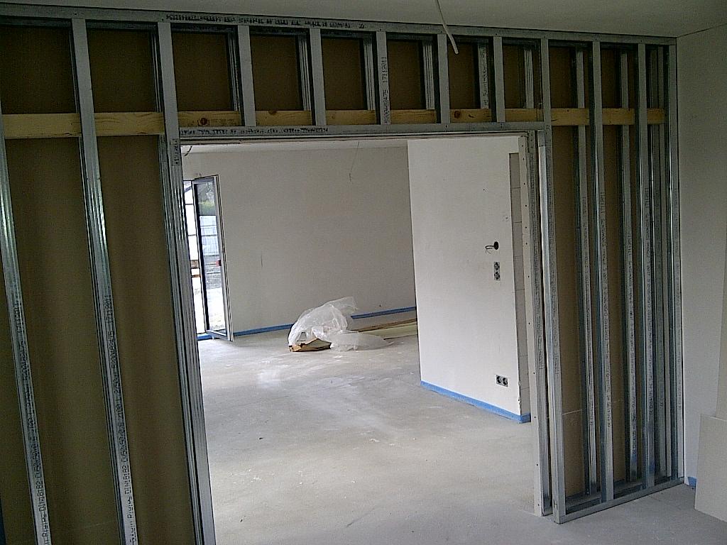 k che trockenbauwand home sweet home. Black Bedroom Furniture Sets. Home Design Ideas