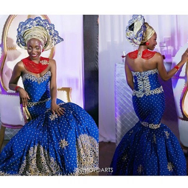 Traditional Nigerian Wedding Gowns: Collection Of Female Traditional Wedding/Attire In Nigeria