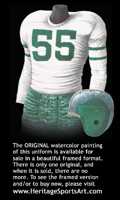 Philadelphia Eagles 1948 uniform