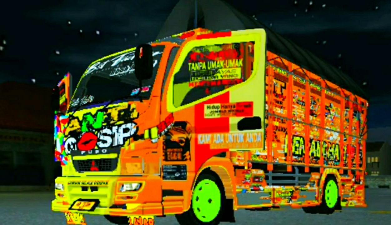 Mod Truck Canter Anti Gosip Terbaru 2021 Kang Yusuf