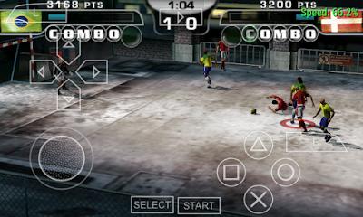 Download FIFA Street 2 PSP high compress