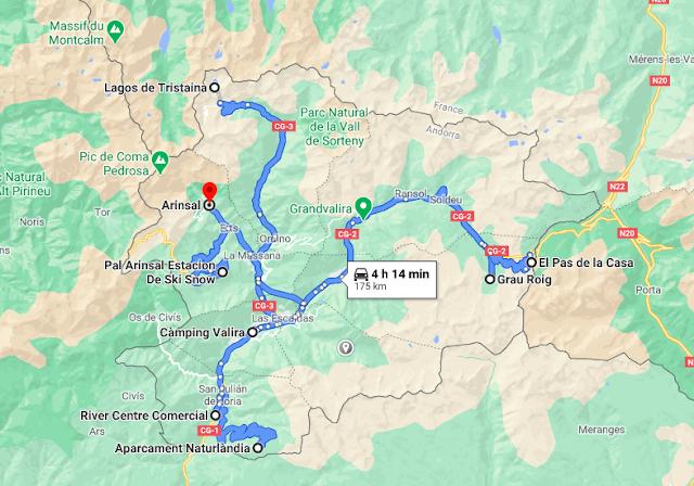 Ruta por Andorra en autocaravana