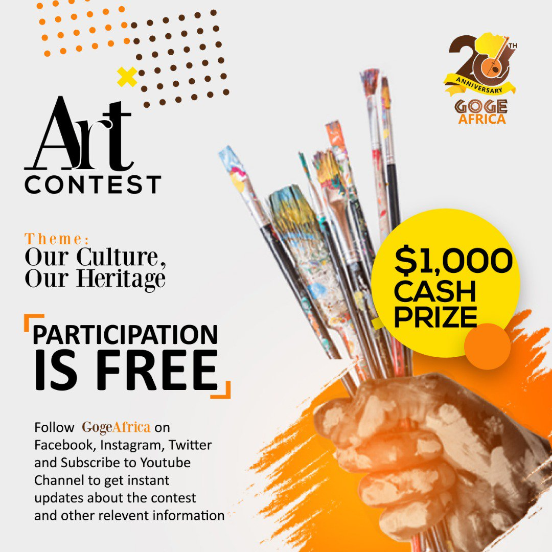Opportunity For Writers: Submit for GOGE Africa Writing Contest