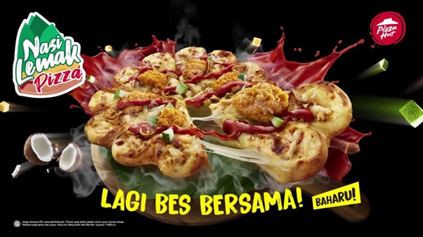 Nasi Lemak Pizza dari Pizza Hut