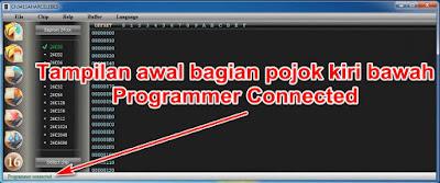 Tampilan ch341a Programmer