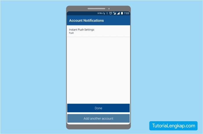 konfigurasi email pop3 pada smartphone android