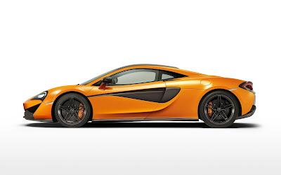 2017 McLaren 570S side look