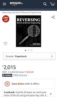 Reversing: Secrets of Reverse Engineering book