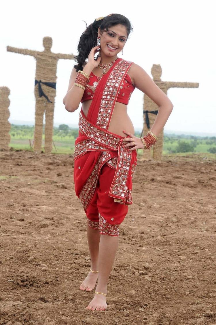 Hari priya in half saree
