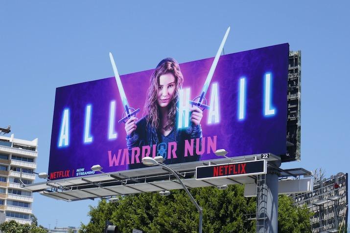 Warrior Nun season 1 billboard