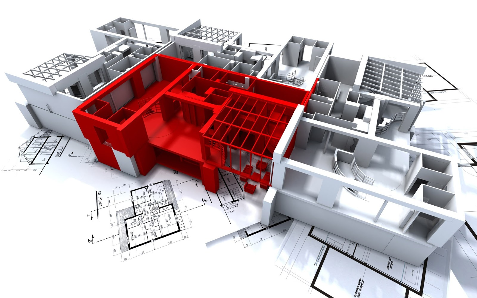 Modern building construction by the best architectural for Architectural design services
