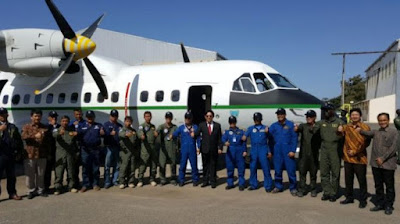 Pesawat CN-235 Senegal