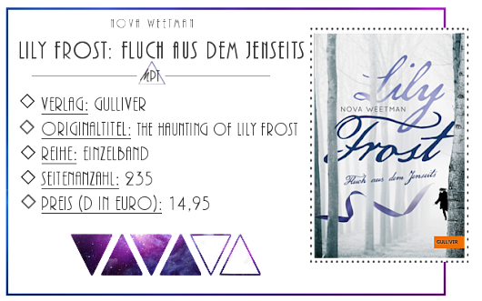 [Rezension] Lily Frost - Nova Weetman
