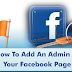 How to Add A Page Admin On Facebook